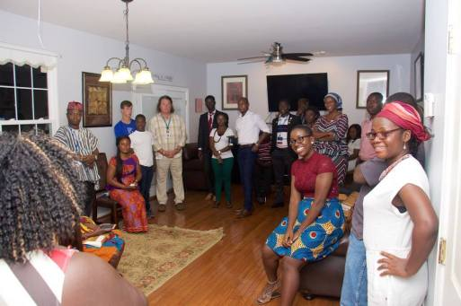 Ghanaian MWFs dinner at the Boatengs