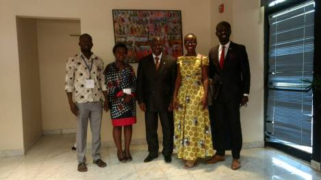 MWFs with H.E. Dr. Barfuor Adjei-Barwuah